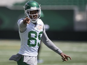 Duron Carter was stunned by the news that he had been released by the Roughriders.