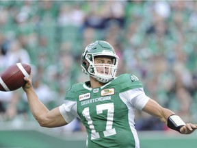 The Saskatchewan Roughriders' offence is taking small, yet progressive, steps now that Zach Collaros is back at quarterback.