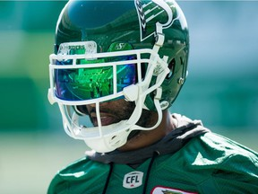 Saskatchewan Roughriders defensive back Crezdon Butler had a fine game Saturday against the B.C. Lions after being a healthy scratch for an Aug. 19 matchup with the Calgary Stampeders.