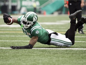 Saskatchewan's Nick Marshall opened the scoring for the Riders on a one-yard run in the first quarter.