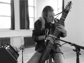 Brian Baggett will perform a solo concert on his Chapman Stick at Regina's Creative City Centre on Nov. 8, 2018, to celebrate the release of his third album, Bookmarks. Submitted photo by Brent Nielsen.