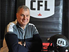 Canadian Football League commissioner Randy Ambrosie.