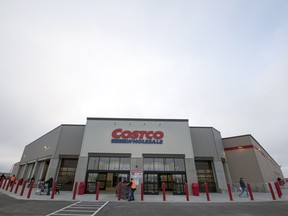 Costco opened its new Regina store on Anaquod Road on Friday.