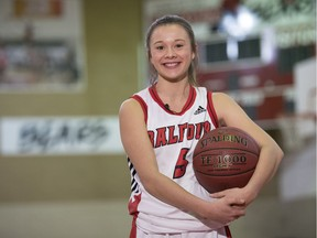 Balfour Bears point guard Paige Hamann is stepping up to help people deal with mental-health issues.