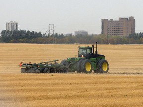 The Saskatchewan government's Prairie Resilience plan includes numerous sectors of the economy, including agriculture.