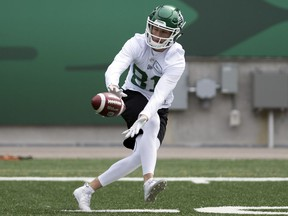 Receiver Mitchell Picton is ready for a strong season with the Riders after spending 2018 on the practice roster.