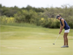 Regina's Autumn Neiszner, shown in this file photo, won the Saskatchewan junior women's golf championship on Thursday in Nipawin.