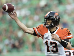 Quarterback Mike Reilly and the B.C. Lions have endured a tough start to the 2019 CFL season.
