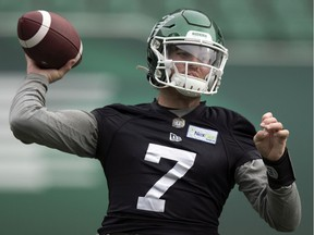 Roughriders quarterback Cody Fajardo has been named the outstanding player in the CFL's West Division, according to a report by CKRM's Derek Taylor.