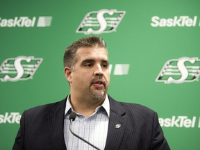 Jeremy O'Day, the Saskatchewan Roughriders' vice-president of football operations and general manager, addressed a number of issues while meeting with the media on Wednesday.