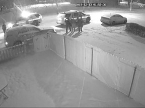 Footage from a security camera at a Regina home showing an arrest by police was uploaded to YouTube. One resident said she filed a complaint over a concern for the force used by police while arresting a man in the video.