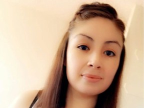 The body of Sheena Marie Billette, 28, was spotted on Dec. 23, 2019 around 5:30 a.m. by a passing motorist on Highway 102, approximately eight kilometres north of La Ronge in northern Saskatchewan. (Facebook)