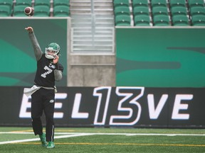 Roughriders quarterback Cody Fajardo is under contract for two more years after signing an extension in October.