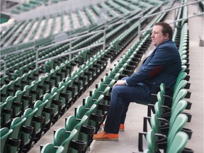 Tim Reid, president and CEO of Evraz Place, has plenty of space at Mosaic Stadium due to the COVID-19 pandemic.