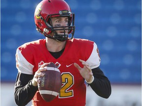 Adam Sinagra won a Vanier Cup and a Hec Crighton Trophy as the University of Calgary Dinos' starting quarterback, but was nonetheless bypassed in Thursday's CFL draft.