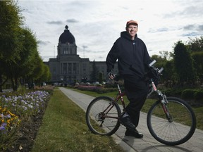 Rob Vanstone has ridden his bicycle more than 2,700 kilometres since being diagnosed with Type 2 diabetes on Feb. 26.