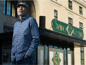 Bernard Shepherd, White Bear First Nation councillor, stands in front of the Casino Regina in Regina, Sask. on Jan. 8, 2021. In the 1990s, Shepherd was among those pushing the provincial government for Indigenous-led gaming. BRANDON HARDER/ Regina Leader-Post