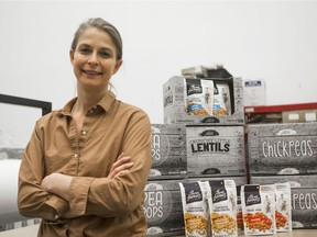 Natasha Vandenhurk is CEO and director of Three Farmers, a Saskatoon-based company with a line of natural food products. The company is eyeing U.S. growth and expansion after an investment from the Golden Opportunities Fund.