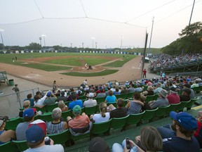 Currie Field, shown in 2018, has been a popular destination for fans of the Western Canadian Baseball League's Regina Red Sox. However, it was announced Thursday that the Red Sox will be idle for a second consecutive season.