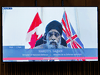 Minister of National Defence Harjit Sajjan speaks virtually during question period in the House of Commons on June 22, 2021.