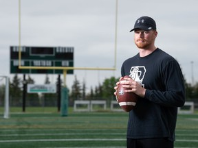 University of Regina Rams quarterback Sawyer Buettner is also entertains people off the field, thanks to a lighthearted Twitter account.