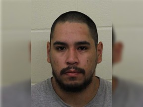 Jarrett Poitras was the subject of an RCMP arrest warrant issued on Sept. 14, 2021.