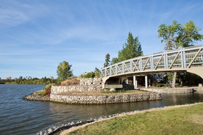 Regina has an almost endless variety of walking trails to explore. Wascana Park's multi-use pathway system winds from one side of the city to another along Wascana Creek, under bridges and through quiet neighbourhoods. PHOTO: GETTY IMAGES
