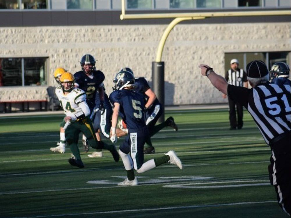 Four-interception game came to pass for Winston Knoll Wolverines' Keagan Curtis