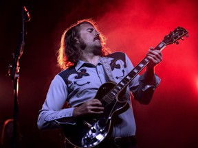 Ewan Currie and The Sheepdogs play London Music Hall Thursday with special guests Sam Coffey and The Iron Lungs. (DEREK RUTTAN, The London Free Press)