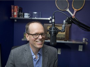 Keith Tomasek has won an award for his podcast called The Inadequate Life. (Derek Ruttan/The London Free Press)