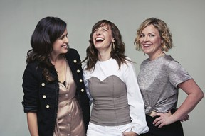 The Good Lovelies (from left, Caroline Brooks, Susan Passmore, Kerri Ough) return to London's Aeolian Hall May 30 to start a tour in support of their new album, Shapeshifters.