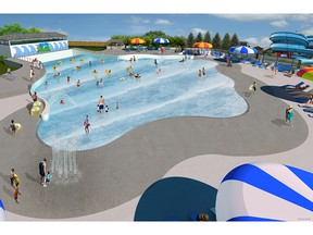 East Park's mega-wave pool, southwestern Ontario's largest, is having a grand opening party June 21 for anyone who purchases a ticket.