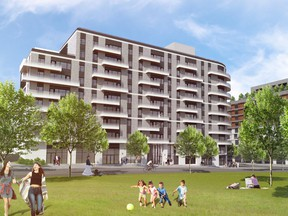 West 5 apartment building rendering (Sifton)