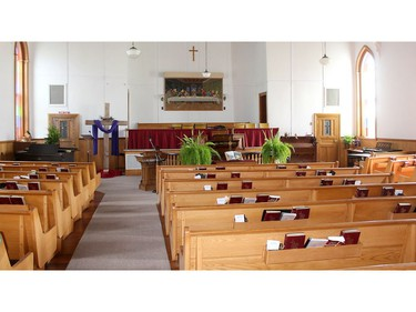 The British Methodist Episcopal Church of Canada is taking over the North Buxton Community Church along with the cemetery and community hall. Ellwood Shreve/Postmedia Network
