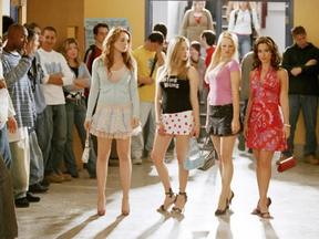 Mean Girls starred St. Thomas native Rachel McAdams (second from left)