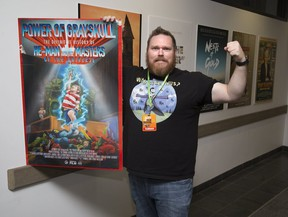 Film maker Rob McCallum's documentary called Power of Grayskull The Definitive History of He-Man and the Masters of the Universe is showing at the Forest City Film Festival. Derek Ruttan/The London Free Press/Postmedia Network