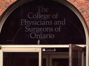 Ontario College of Physicians and Surgeons headquarters, in Toronto.