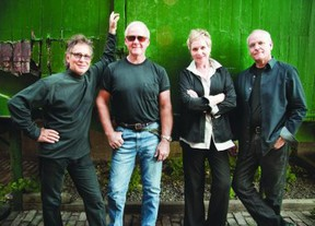 Lunch At Allen's features Marc Jordan, left, Murray McLauchlan, Cindy Church and Ian Thomas. (Marc Lostracco / Postmedia)
