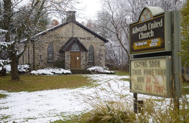 Kilworth United Church near Kilworth in west London sponsoring a Christmas Home Tour in London, Ont.   Mike Hensen/The London Free Press/Postmedia Network