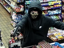 Police provide this image of the suspect in an armed robbery Nov. 15 at a Rectory Street convenience store.