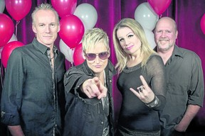 Award-winning cover band Swagger, voted Forest City London Music Awards fan favourite in 2017, gets the fun started for adults around 9:30 on New Year's Eve at Victoria Park.