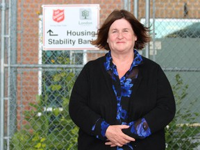 Charlotte Dingwall is the executive director of the Salvation Army Centre of Hope in London. (DALE CARRUTHERS, The London Free Press)