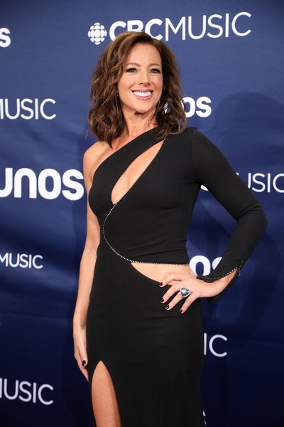 Juno host Sarah McLachlan on the red carpet in London, Ont. on Sunday March 17, 2019. Mike Hensen/The London Free Press/Postmedia Network