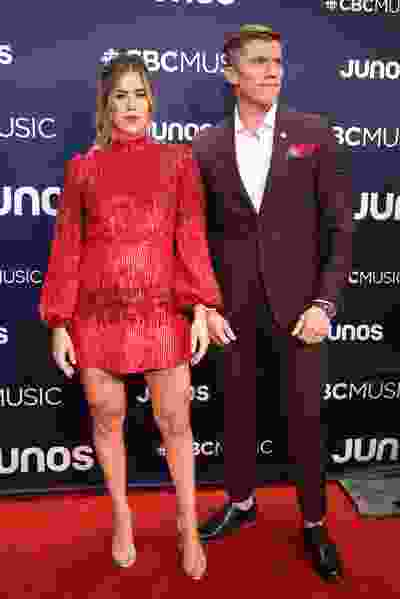 The Reklaws on the red carpet at the Juno Awards in London, Ont. on Sunday March 17, 2019. They're nominated for country album of the year. Mike Hensen/The London Free Press/Postmedia Network