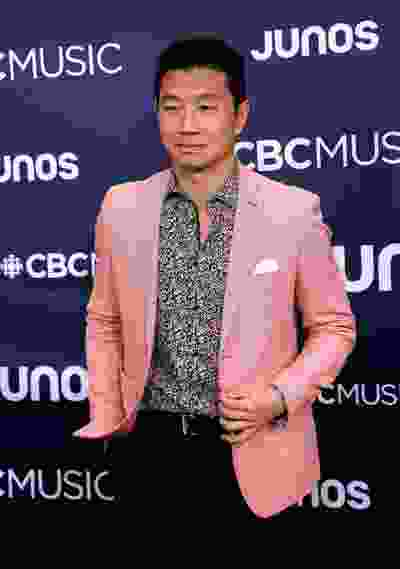 Simu Liu on the red carpet at the Juno Awards in London, Ont. on Sunday March 17, 2019. Mike Hensen/The London Free Press/Postmedia Network