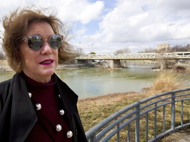 Martha Powell, President and CEO of London Community Foundation admits that London's ambitious Back to the River plans may be in jeopardy with the new city council. (Mike Hensen/The London Free Press)