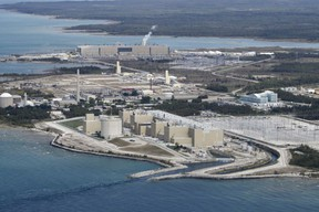 An aerial view of the Bruce Power site in Kincardine, Ontario. (CNW Group/Bruce Power)
