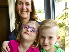 Parents of kids diagnosed with food allergies often feel they have to become instant experts on managing their condition, said Gillian Kriter, whose daughter, Emma, 4, and son, Benjamin, 6, both have food allergies. (Mike Hensen/The London Free Press)