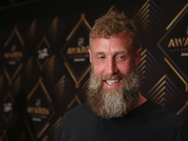 Joe Thornton of the San Jose Sharks attends the 2019 NHL Awards Nominee Media Availability on June 18, 2019 at The Encore at Wynn in Las Vegas, Nevada.
