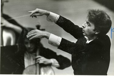 Alexis Hauser, composer London Symphony at Centennial Hall, 1980. (London Free Press files)